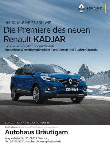 Renault Autohaus Bräutigam - 09.01.2019