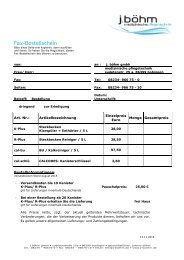 Bestellfax Reiniger & Entkalker
