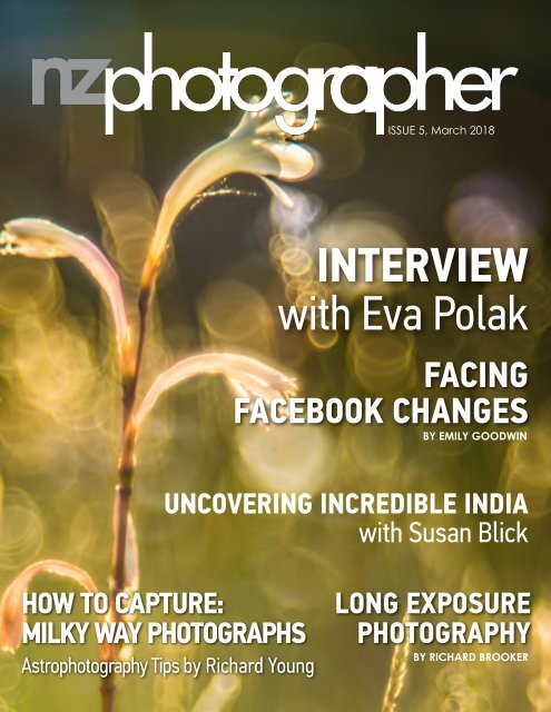 NZPhotographer Issue 5, March 2018