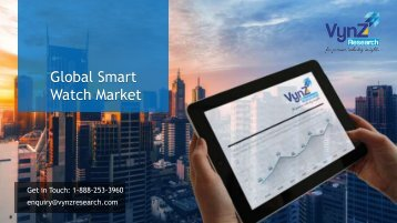 Smart Watch Market in 2018: Rising Demand, Trends and Future Technology by 2024