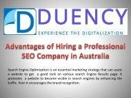 Advantages of Hiring a Professional SEO Company in Australia