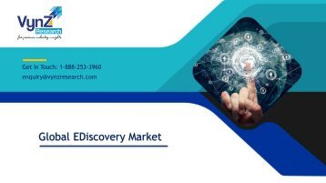 Global eDiscovery Market Size, Share, Trends– Analysis and Forecast (2018-2024)