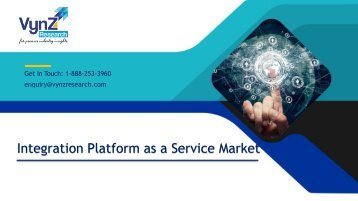 Global IPaaS Market Size, Share, Trends – Analysis and Forecast (2018-2024)