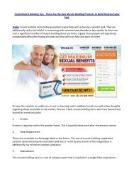 Why Trialix Male Enhancement is Better ?
