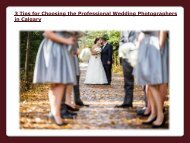 Professional Wedding Photographers in Calgary