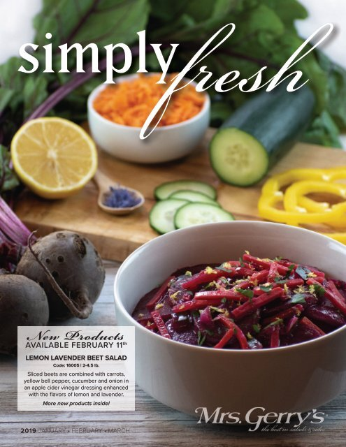 Simply Fresh 2019 January, February, March
