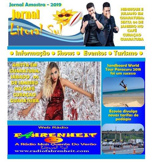 jornal litoral sul 2019 edição 1