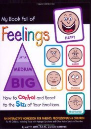 My Book Full of Feelings: How to Control and React to the Size of Your Emotions (Amy V. Jaffe)