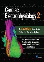 Cardiac Electrophysiology 2: An Advanced Visual Guide for Nurses, Techs, and Fellows (Paul D. Purves)