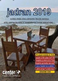 JADRAN 2019-Turistična agencija CENTER