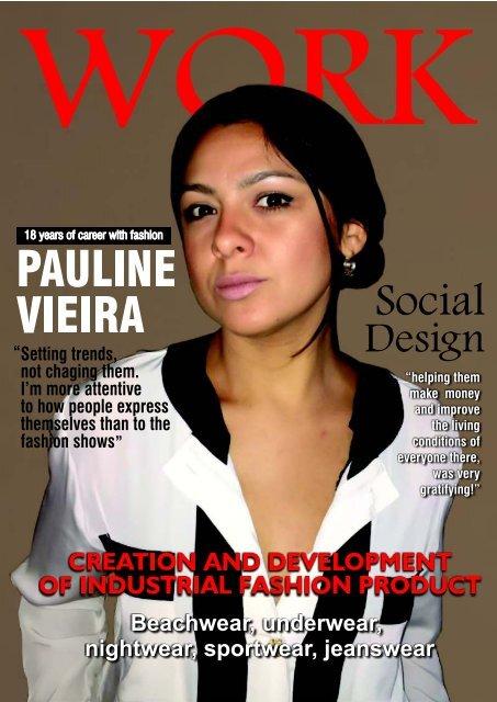 Portfolio Fashion Designer Pauline