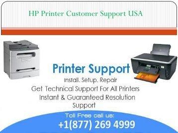 HP Printer Customer Support USA