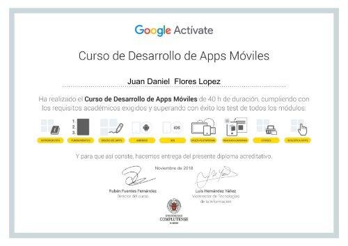 Certificado Juanfores