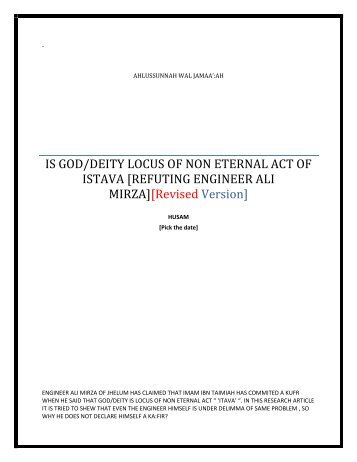 396846208-IS-GOD-DEITY-LOCUS-OF-NONETERNAL-ACT-OF-ISTAVA-IN-THE-THEOLOGICAL-SYSTEM-OF-ENGINEER-ALI-MIRZA-OF-JHELUM