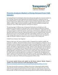 Process Analyzer Market
