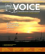 The Voice of Southwest Louisiana January 2019 Issue