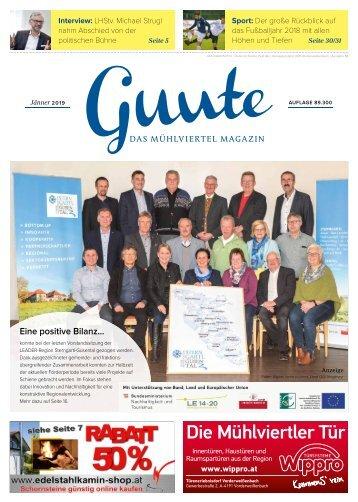 Guute Jänner 2019