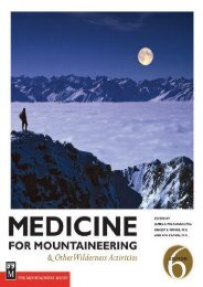 Medicine for Mountaineering: And Other Wilderness Activities (James A. Wilkerson)