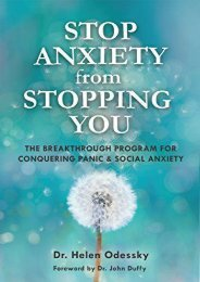 Stop Anxiety from Stopping You: The Breakthrough Program For Conquering Panic and Social Anxiety (Helen Odessky)