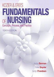 Kozier   Erb s Fundamentals of Nursing (Fundamentals of Nursing (Kozier)) (Audrey T. Berman)