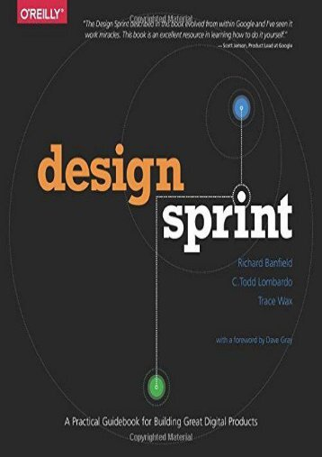 Design Sprint: A Practical Guidebook for Building Great Digital Products (Richard Banfield)