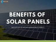 Advantages of Solar Panels in North Carolina