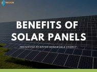 Advantages of Solar Panels in North Carolina