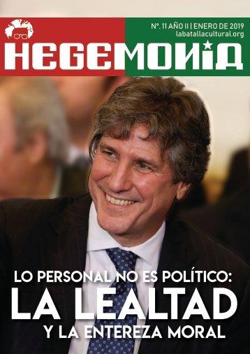 Revista Hegemonía. Año II Nº. 11