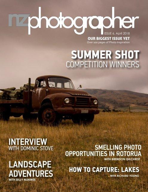 NZPhotographer Issue 6, April 2018