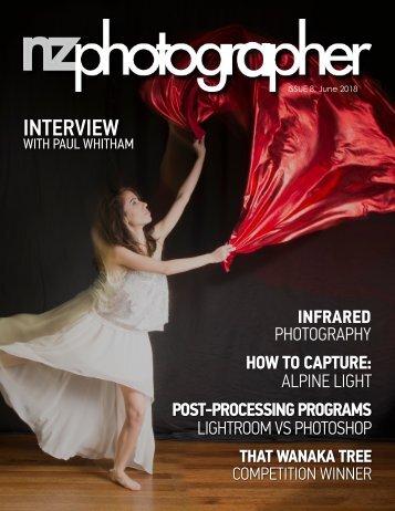 NZPhotographers Issue 8, June 2018