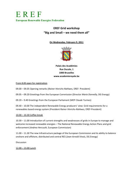 Programme_EREF grid workshop - BET Aachen