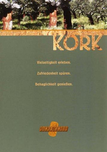 Kork-Fertigparkett