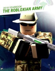 [TRA] The Robloxian Army TRA - Yearbook of 2018