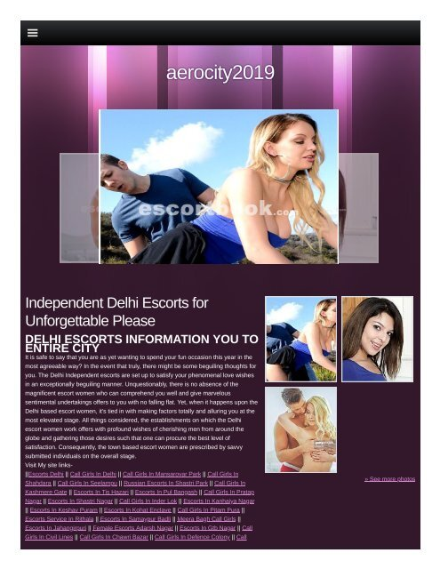 Professional Aerocity Escort services  Call Girls in Aerocity - Delhi Escorts
