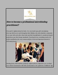 How to become a professional microblading practitioner
