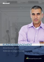 Microsoft CRM 4.0 - k.section business solutions gmbh