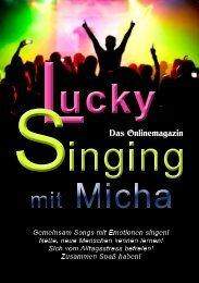 Lucky Singing mit Micha