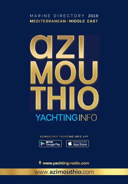 Azimouthio Yachting Info Digital Book