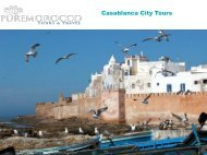 Best Casablanca City Tours with Puremoroccotours