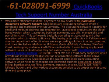 QuickBooks Tech Support Number Australia-converted