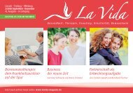 La Vida Magazin Ausgabe September – August 2018