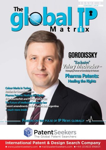 Global IP Matrix - Issue 3 - Jan 2019
