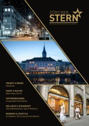 Zürcher Stern Ausgabe 2 online - Hochglanzmagazin