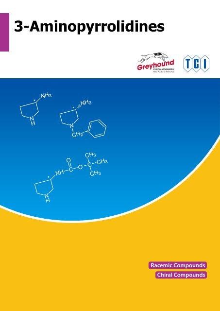 Tokyo Chemical Industries (TCI) 3-Aminopyrrolidines