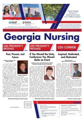 Georgia Nursing - February 2019