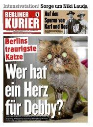 Berliner Kurier 07.01.2019