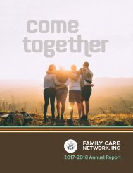 Family Care Network Annual Report