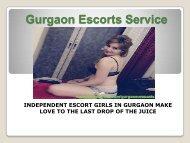 Gurgaon Escorts Service at Affordable Price