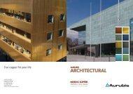 Aurubis Architectural Info-Broschüre