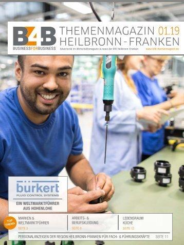 MARKEN & WELTMARKTFÜHRER | B4B Themenmagazin 01.2019
